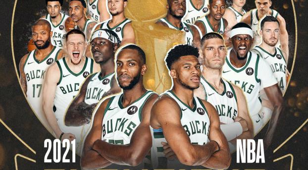 Milwaukee Bucks NBA Champions 2021 Wallpaper