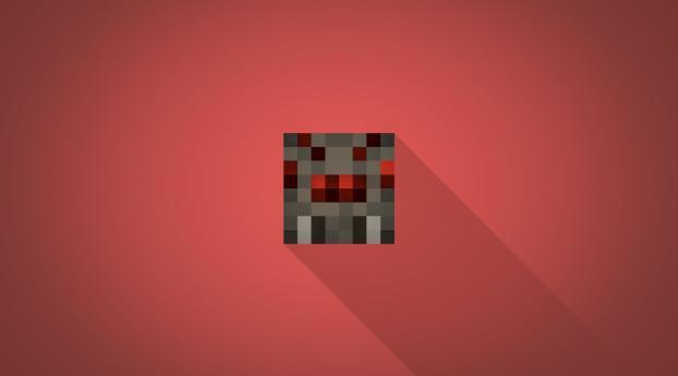 HD Wallpaper | Background Image Minecraft Spider Minimalist