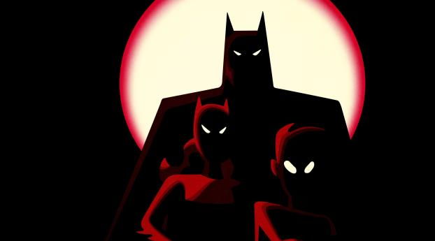 HD Wallpaper | Background Image Minimal Batman Family