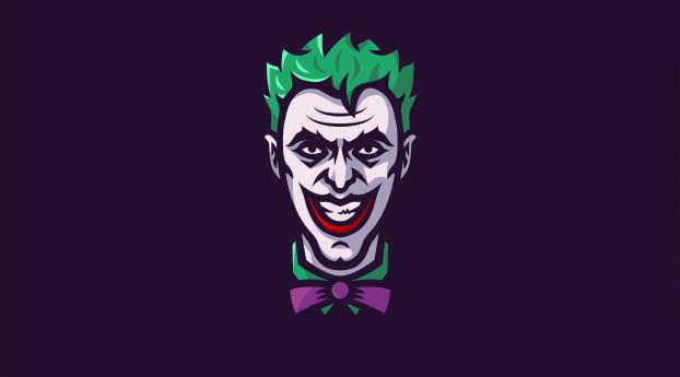 Minimal Joker Art Wallpaper 2880x1800 Resolution