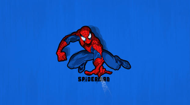 HD Wallpaper | Background Image Minimal Spiderman