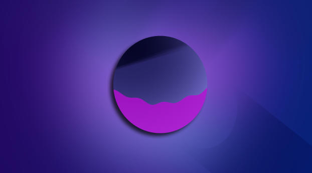 HD Wallpaper | Background Image Minimalist Planet Vector