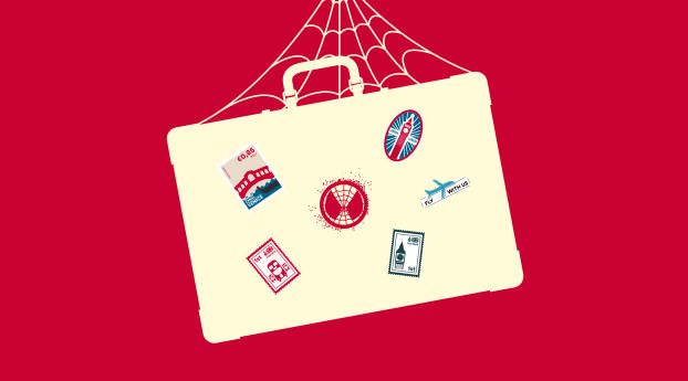 HD Wallpaper | Background Image Minimalist Spider Man Far From Home