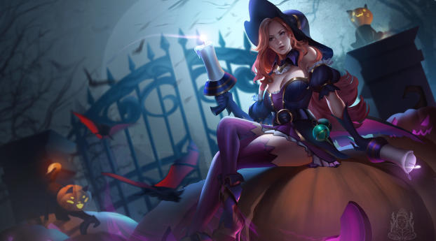 HD Wallpaper   Background Image Miss Fortune League Of Legends