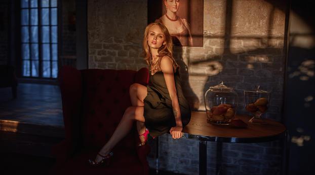 HD Wallpaper | Background Image Model Anastasiya Scheglova 2020
