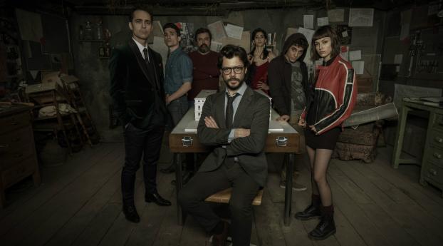 HD Wallpaper | Background Image Money Heist Season 4