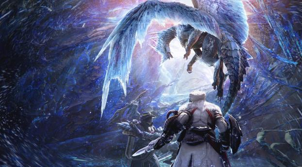 HD Wallpaper | Background Image Monster Hunter World Iceborne