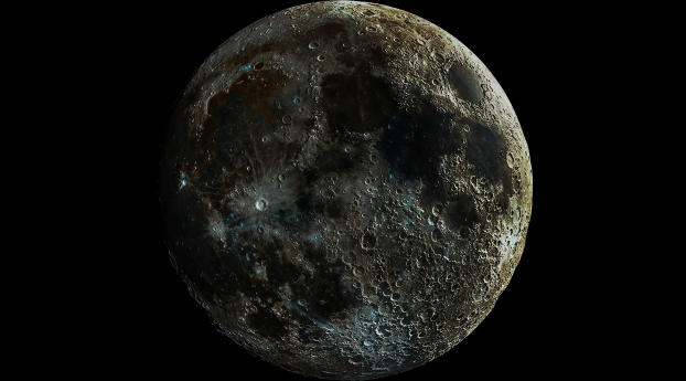 HD Wallpaper | Background Image Moon 5K
