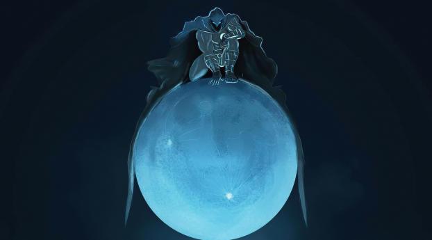 Moon Knight Marvel Superhero Wallpaper