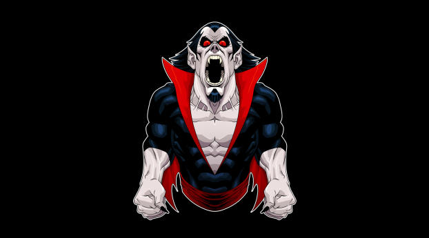 HD Wallpaper | Background Image Morbius Vampire Minimal