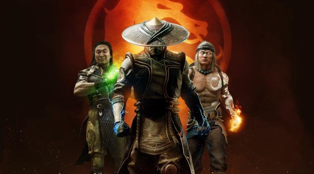 Mortal Kombat 11 Aftermath Poster Wallpaper