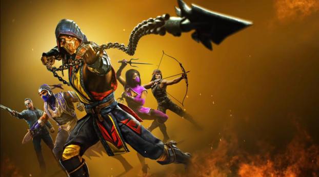 Mortal Kombat 11 Ultimate Wallpaper 5120x2880 Resolution