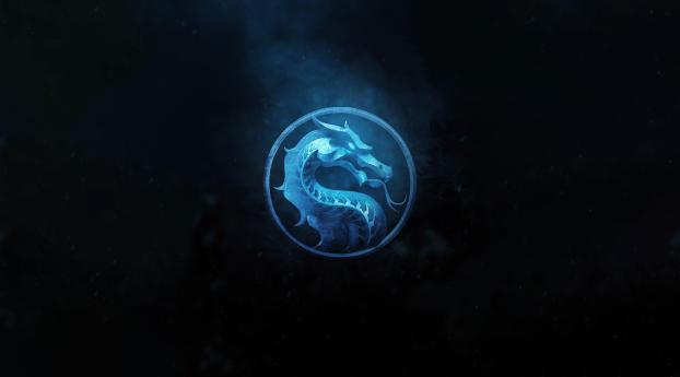 Mortal Kombat Fan Logo Wallpaper