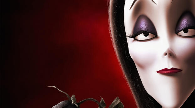 HD Wallpaper | Background Image Morticia Addams The Addams Family