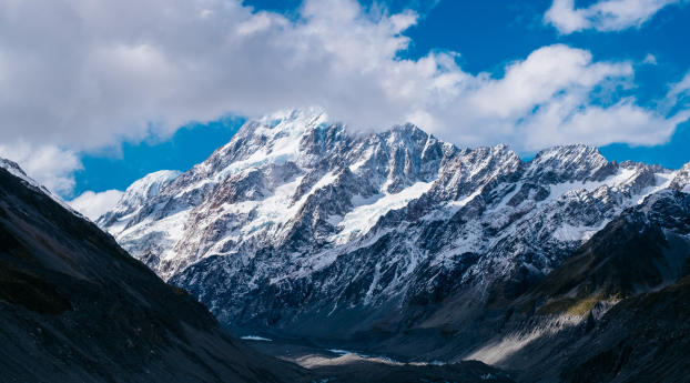 Nz Shooting Video Wallpaper: Mountains, New Zealand, Sky, HD 4K Wallpaper
