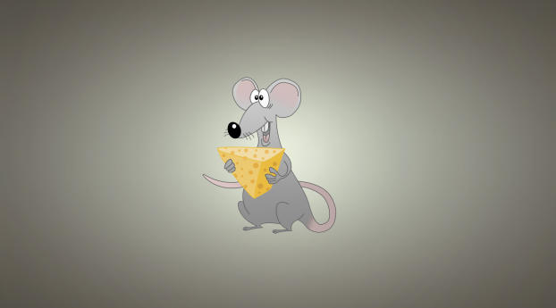 1366x768 Mouse Background Cheese 1366x768 Resolution