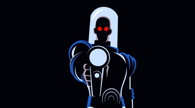 1440x2960 Mr Freeze Batman The Animated Series Samsung