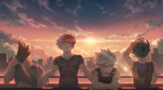 2048x2048 My Hero Academia Anime Ipad Air Wallpaper Hd