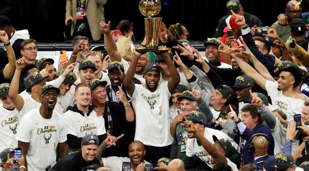 1366x768 NBA Champions Milwaukee Bucks 2021 1366x768 ...