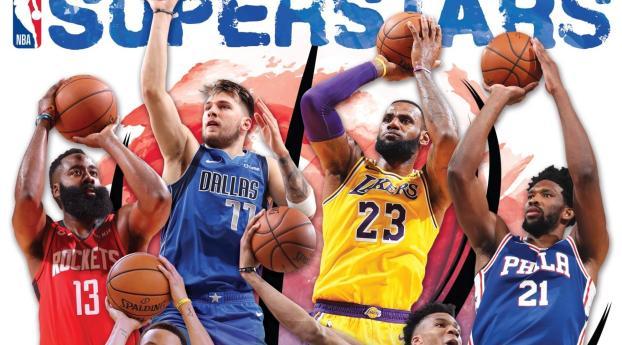 NBA Players 2021 Superstars Wallpaper