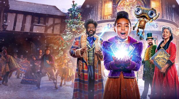 Netflix Jingle Jangle Movie Wallpaper