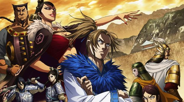 Netflix Kingdom Anime Wallpaper 1280x2120 Resolution