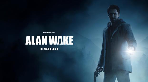 New Alan Wake Remastered 4k Wallpaper