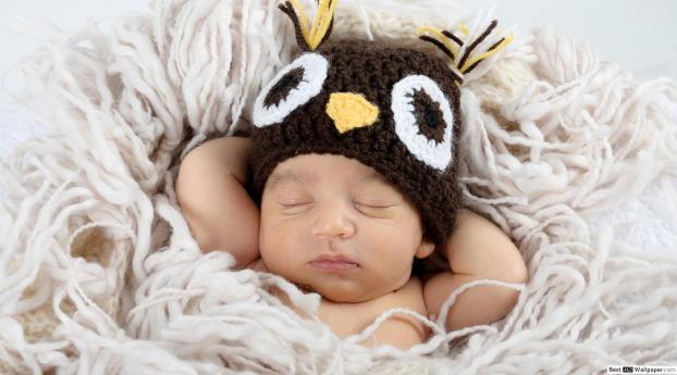 New Born Baby Sleep Wallpaper
