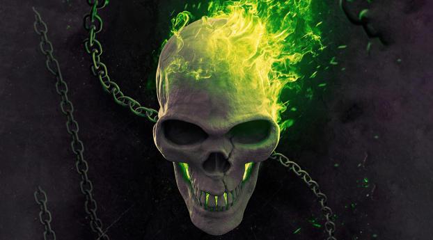 New Ghost Rider Marvel Poster 2021 Wallpaper