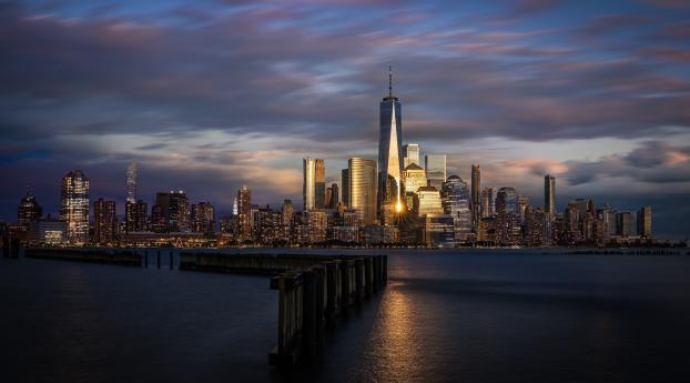 New Jersey Skyscraper Wallpaper