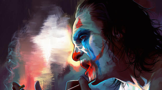 New Joker 2020 Digital Art Wallpaper