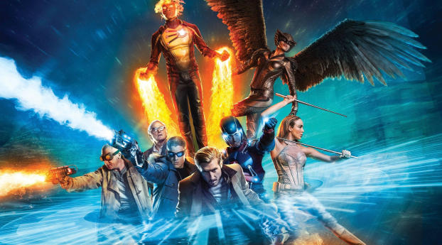 New Legends of Tomorrow Season 6 Wallpaper