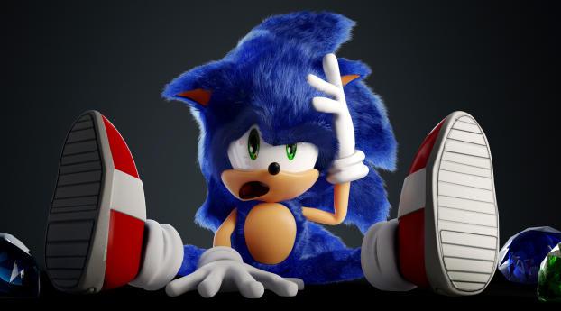 HD Wallpaper | Background Image New Sonic 4K FanArt