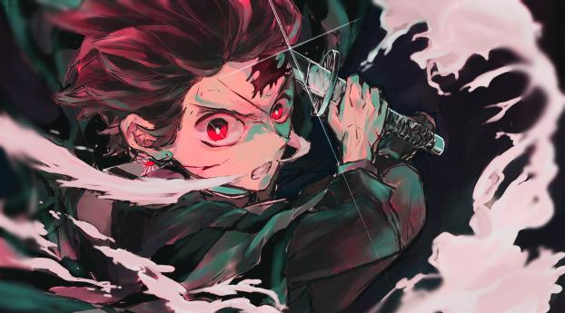 HD Wallpaper | Background Image New Tanjirou Kamado 4K