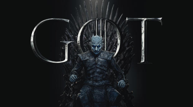 HD Wallpaper | Background Image Night King Game of Thrones Season 8 Poster