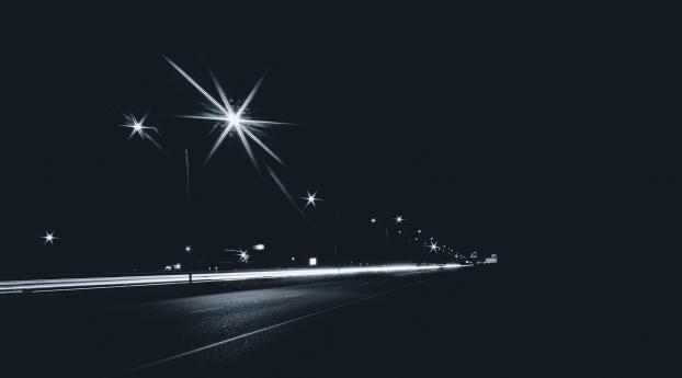 HD Wallpaper | Background Image Night Road