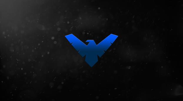 HD Wallpaper | Background Image Nightwing 5k Minimal