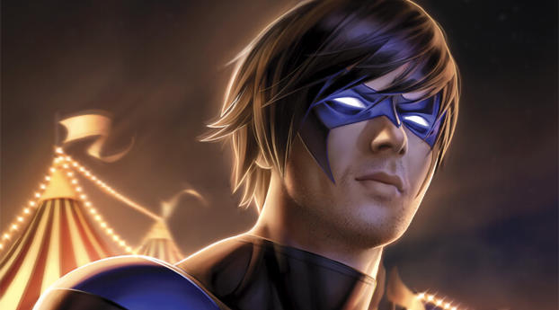HD Wallpaper | Background Image Nightwing Comic Art