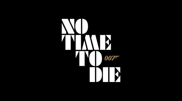 HD Wallpaper | Background Image No Time To Die Logo
