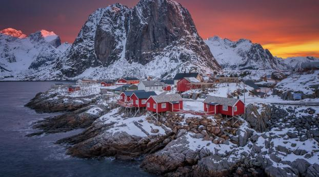 HD Wallpaper | Background Image Norway The Lofoten Islands