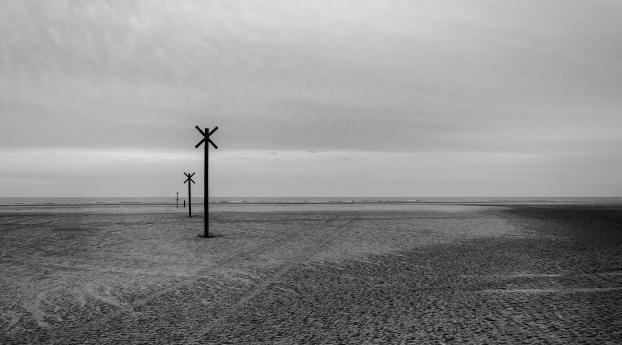 HD Wallpaper | Background Image Ocean Loneliness