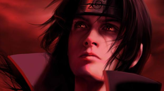 Olggah, Naruto, Itachi Uchiha, HD 4K Wallpaper