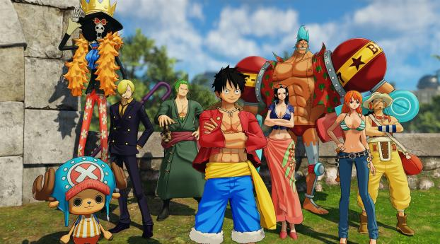 HD Wallpaper | Background Image One Piece World Seeker 4K