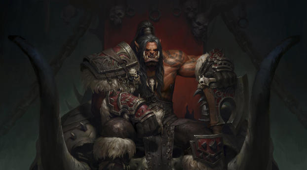 HD Wallpaper | Background Image Orc Grom Hellscream