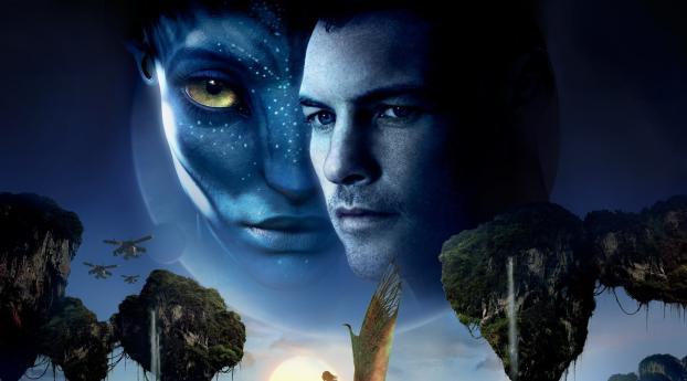 HD Wallpaper | Background Image Original Avatar Movie Poster