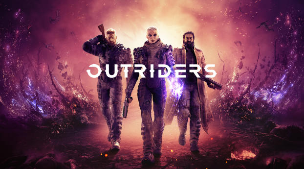 HD Wallpaper | Background Image Outriders 2020 Game