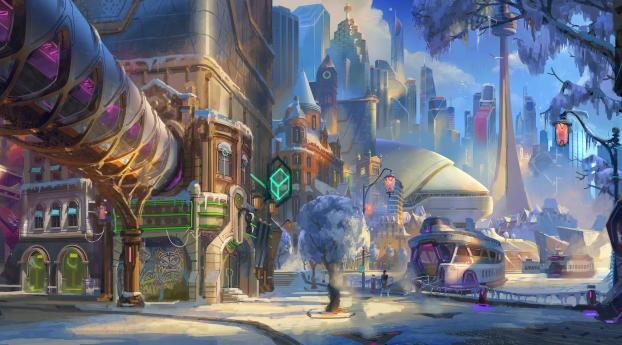 HD Wallpaper | Background Image Overwatch 2 Toronto