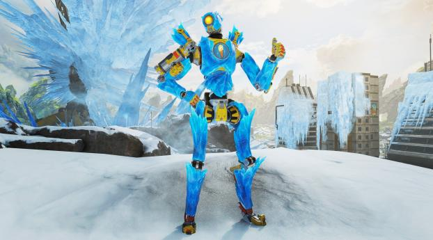 HD Wallpaper | Background Image Pathfinder Iced Out Apex Legends