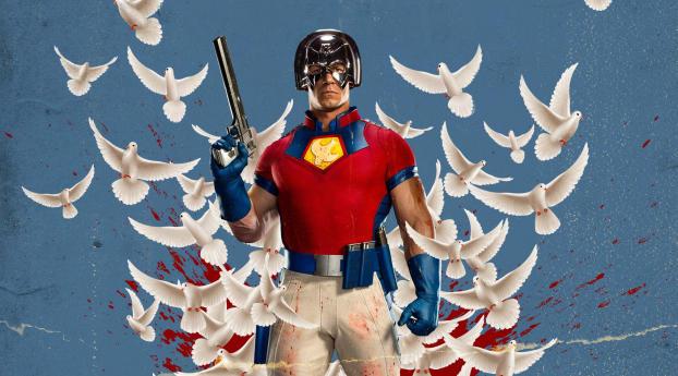 Peacemaker John Cena The Suicide Squad Wallpaper