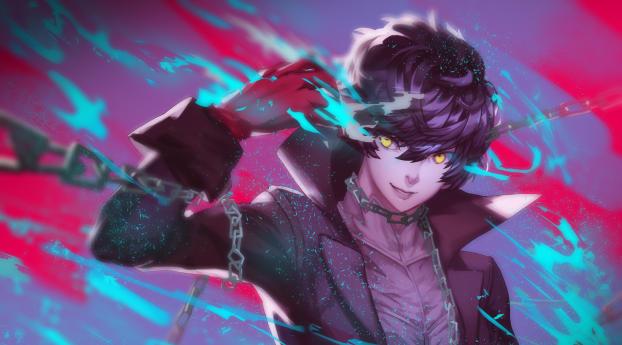Persona 5 Akira Kurusu Joker Wallpaper 1400x1050 Resolution